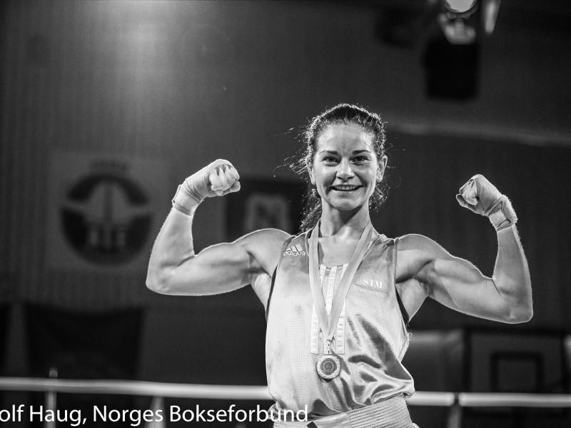 MArielle Hansen. FOTO: Rolf Haugh, NBF